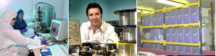 Nanoscience laboratory, Dr Fetah Benabid and a high performance parallel computer